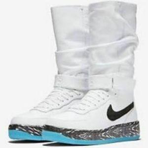 Nike Shoes - Nike AF1 Upstep Warrior N7 sneaker boots